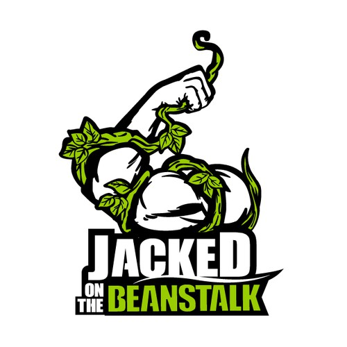 Jacked on the Beanstalk (vegan coach) needs bad-ass logo that will appeal to meatless meatheads!