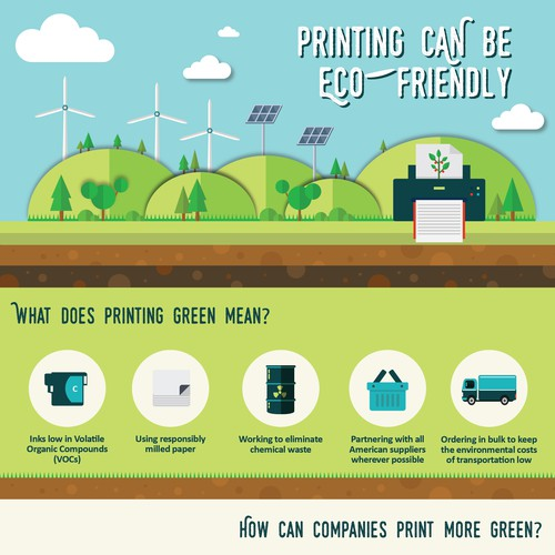 Pinting can be eco-friendly