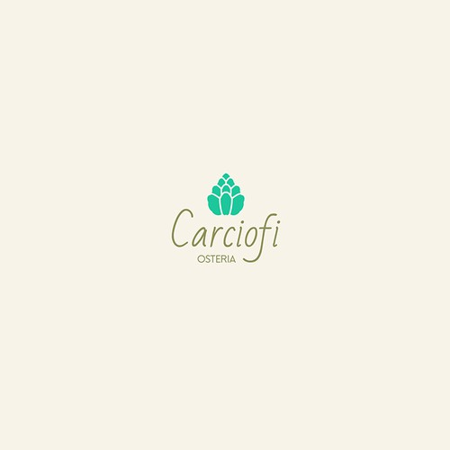 Logo concept for an Italian restaurant