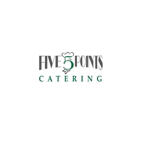 Unique logo for Catering Company