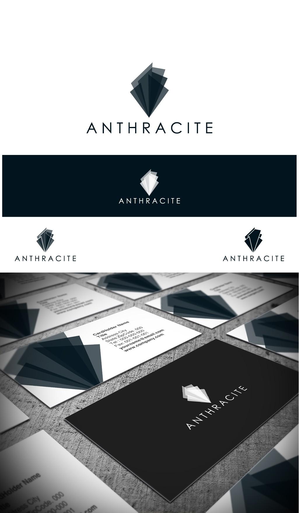 Anthracite - Logo For Enterprise Technology Company