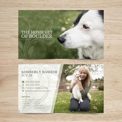 Veterinary Calling Card Design