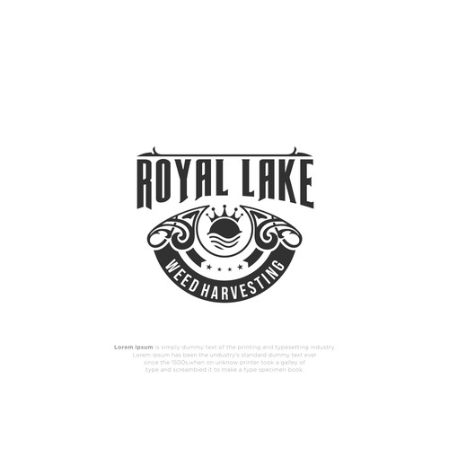 Lake Weed Removal Service for Lake House Owners. Regal Design.