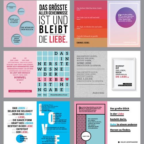 Love Quotes Designs - Ich Liebe Dich