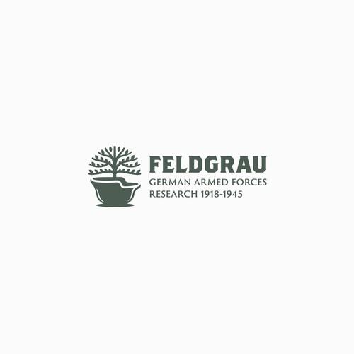 Feldgrau German Armed Forces Research Site Logo Design
