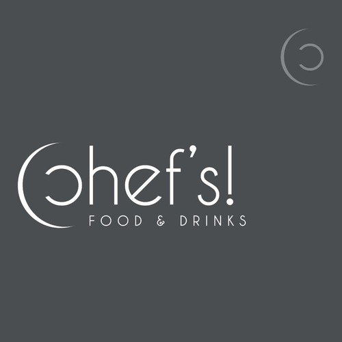New logo wanted for Chef's! Food & Drinks