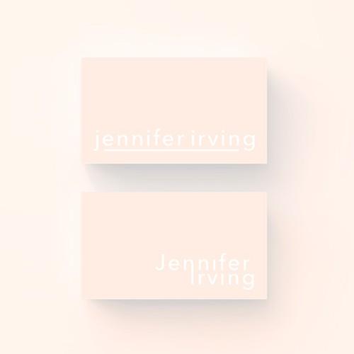 Youthful & minimal personal branding