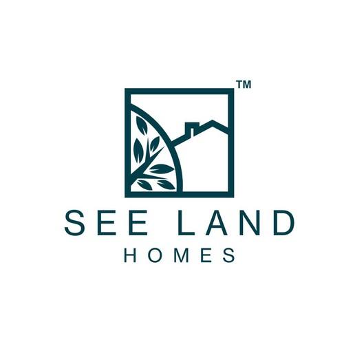Modern logo for real estate