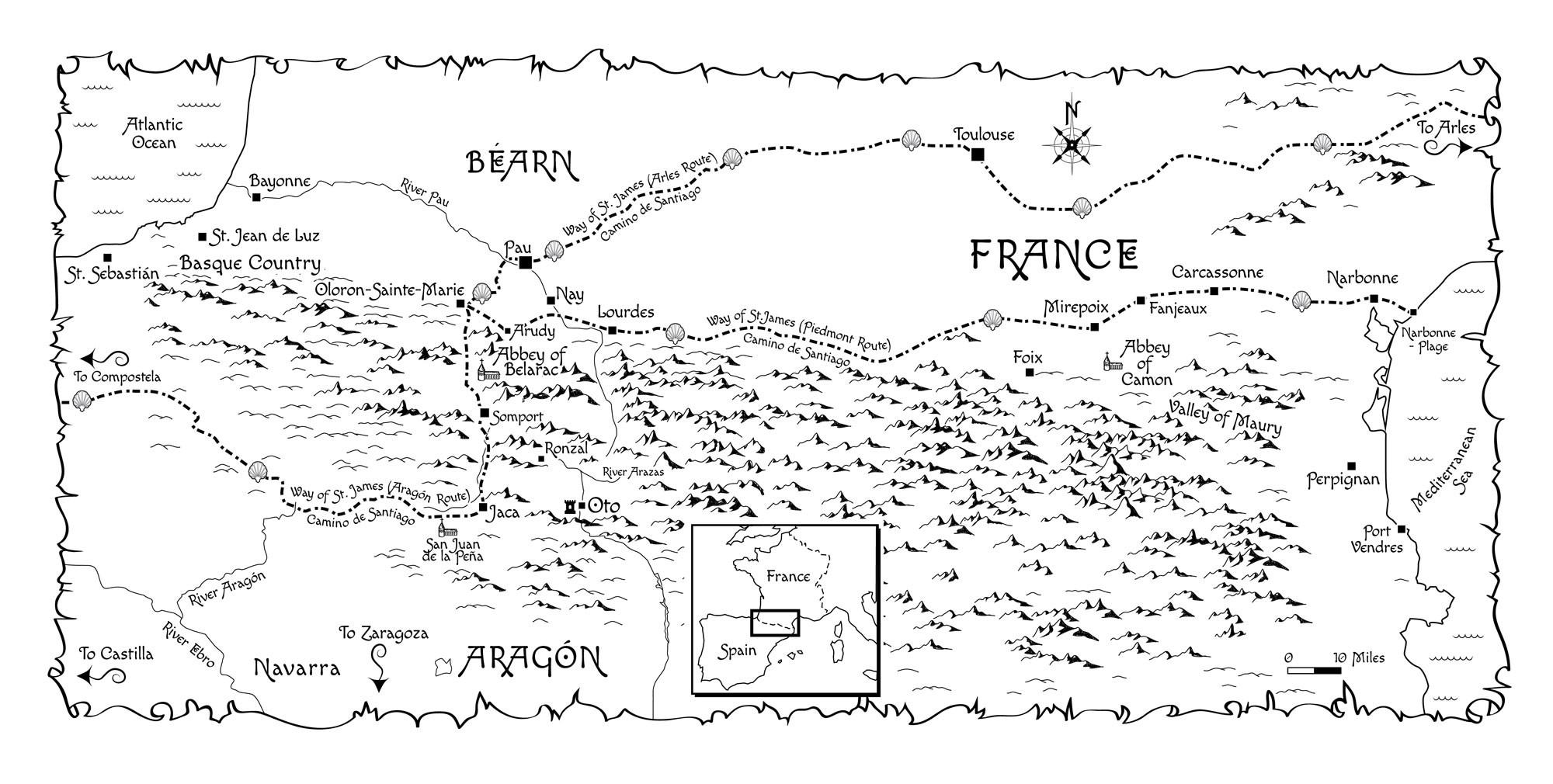 Mira's Way Map