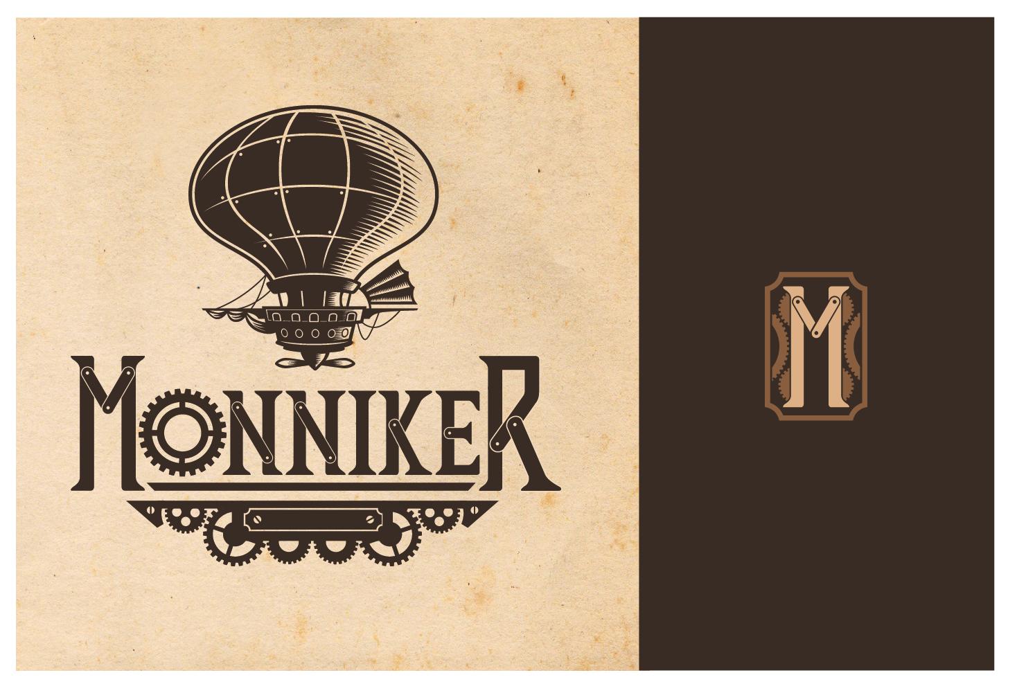 Logo design for a Victorian steampunk cafe!