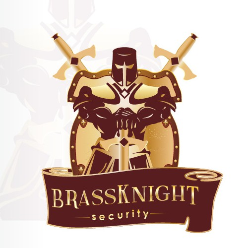 Emblem logo for a security company