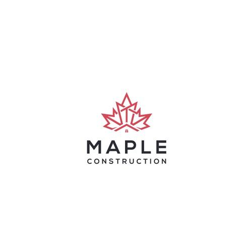 Logo for Maple Construction