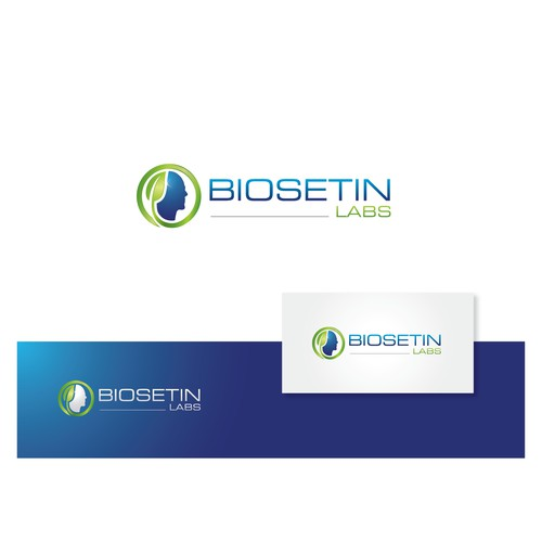 Worldwide distribution set.  Create the logo/brand for BioSetin Labs and BioSetin, the supplement.