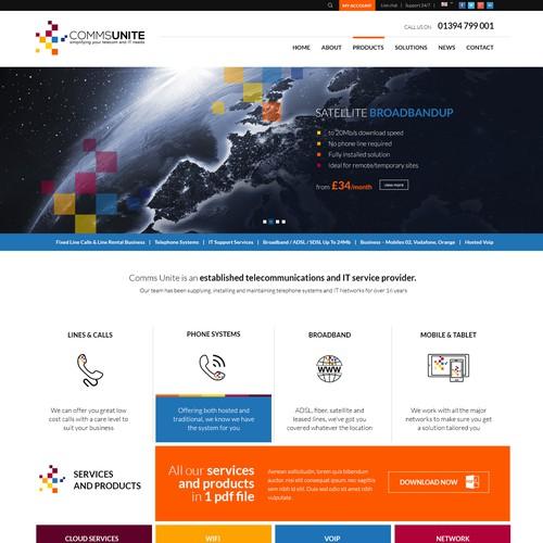 telecommunications website