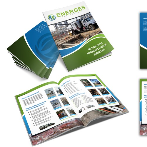Help Energes Services LLC. with a new brochure design