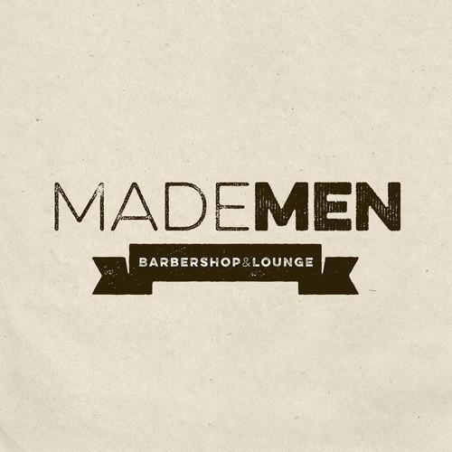 Made Men design for barbershop