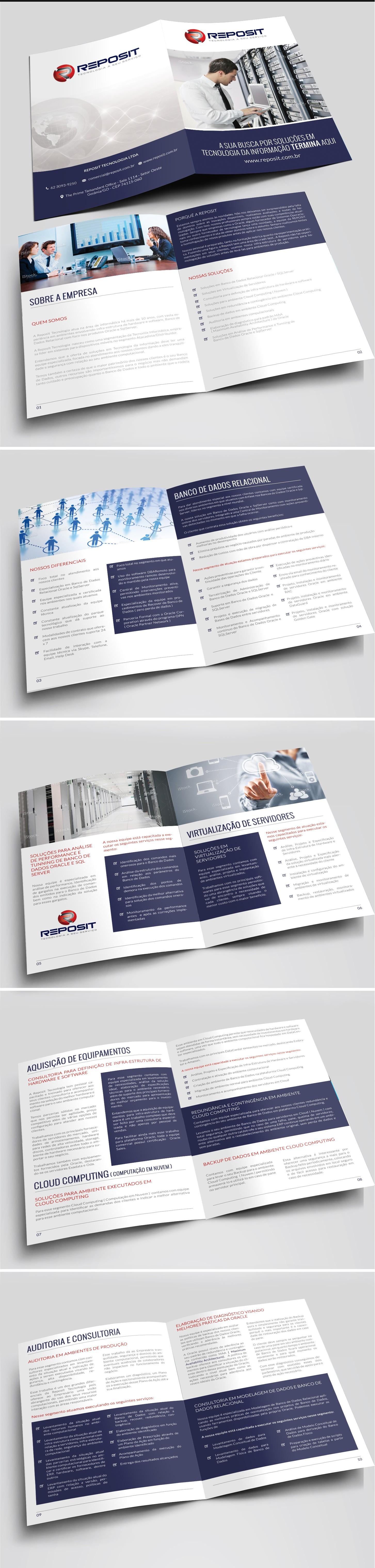 Institutional Brochure For 'Reposit'