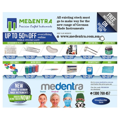 EMAIL NEWSLETTER FOR MEDENTR