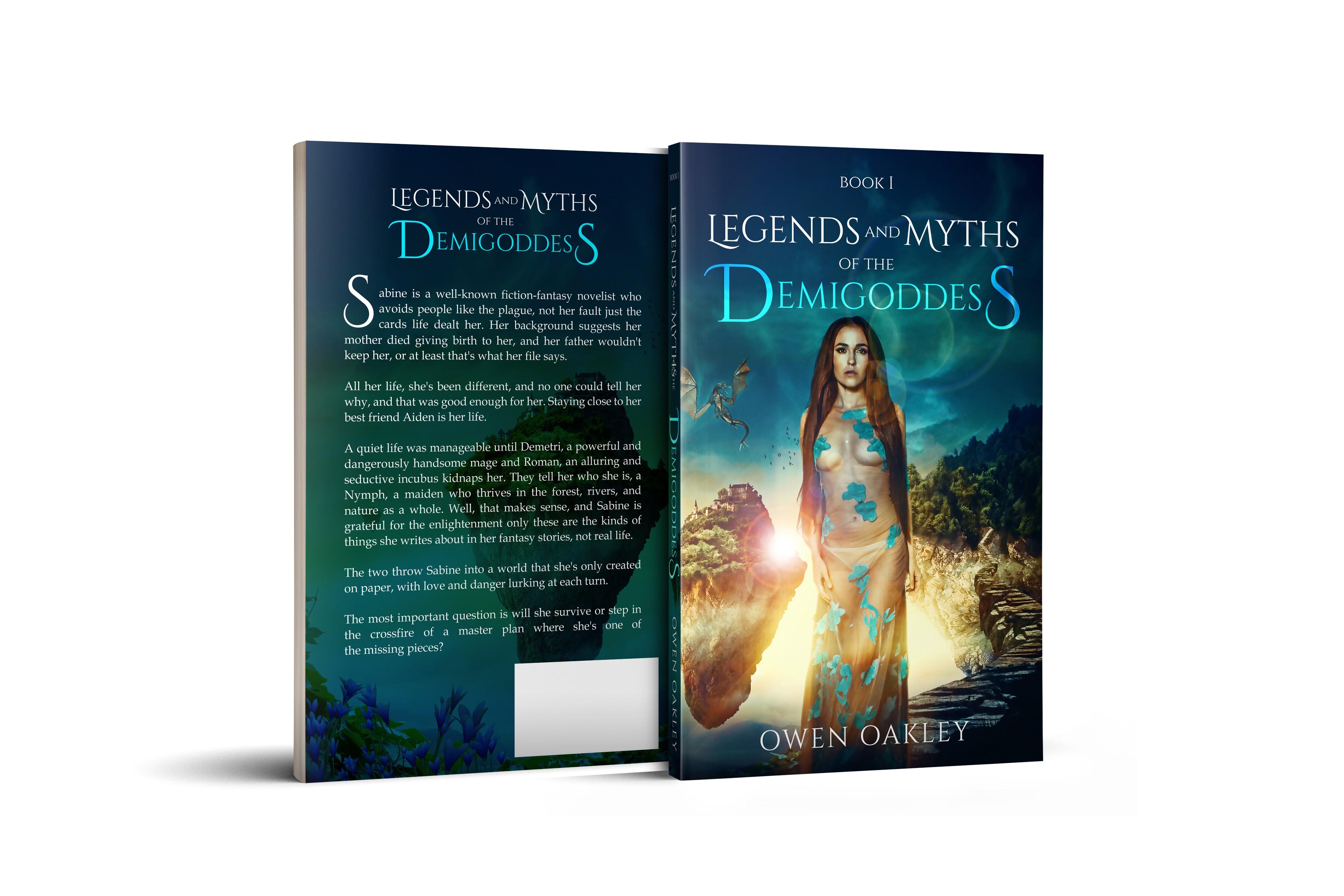 Legends and Myths The Demigoddess Book I