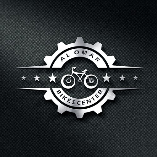 Bicycle and spare parts logo