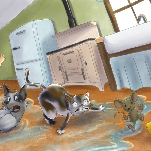 Picture book illustration