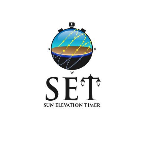 Bold logo for SET Sun Elevation Timer