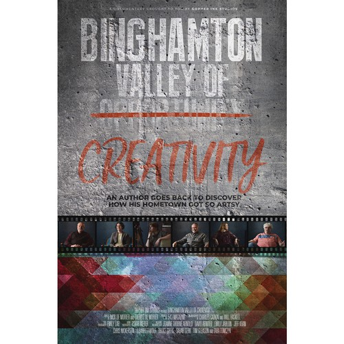 Poster for documentary Valley of Creativity