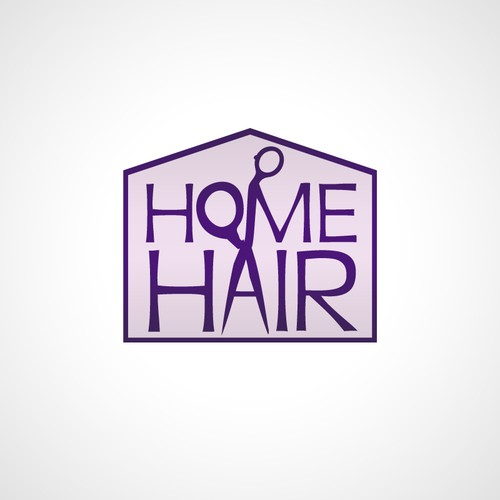 Logo Design for HomeHair