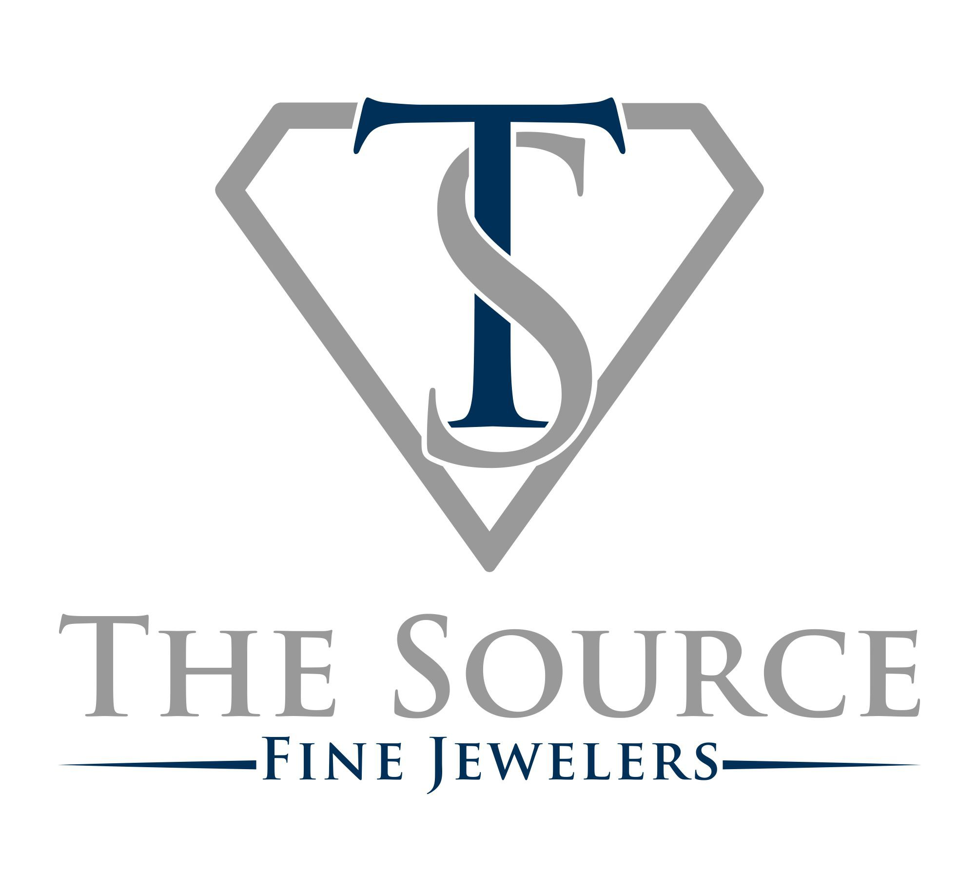 Create a logo that is fresh but will stand the test of time for The Source Fine Jewelers
