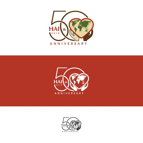 HAI 50th Anniversary logo