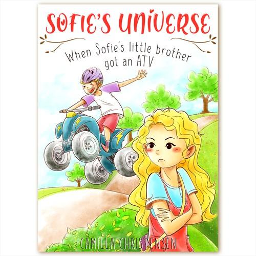 E-book cover - Sofie's Universe
