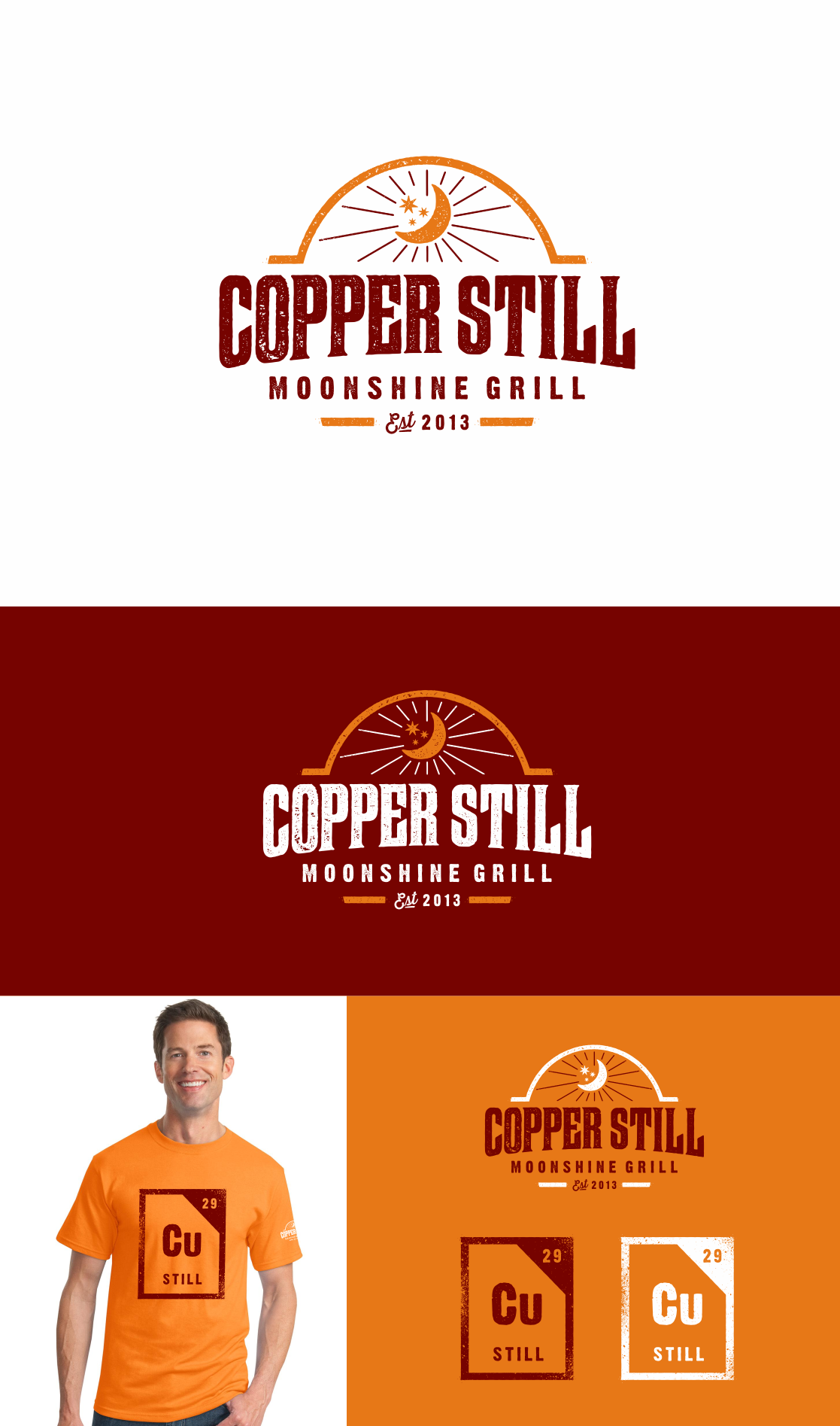 Help Copper Still - Moonshine Grill with a new logo