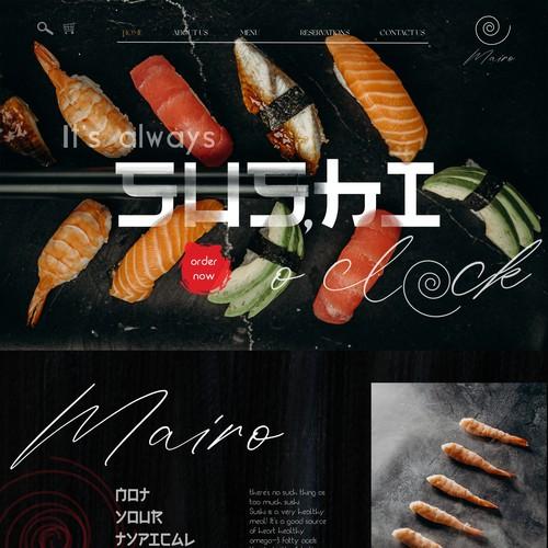 SQUARE ONLINE STORE | Design for Mairo Sushi Restaurant