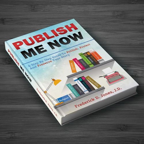Book Cover Design Job-Self Publishing Guide Book