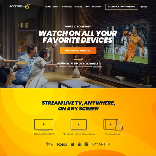 Live Stream Device & Web App