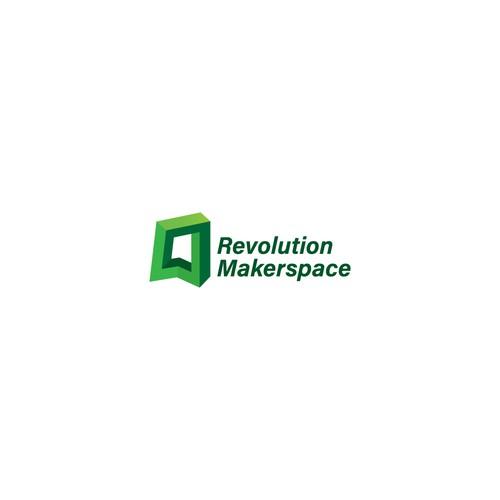 Revolution Makerspace Logo
