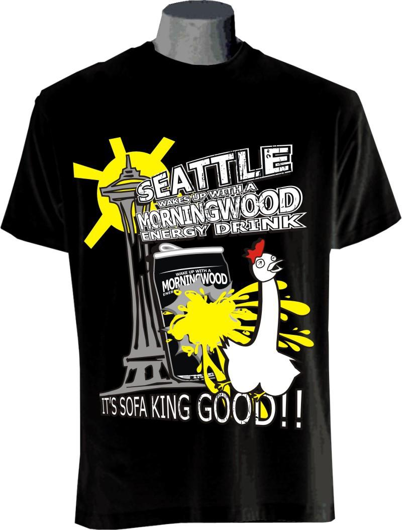 t-shirt design for MORNINGWOOD ENERGY LLC