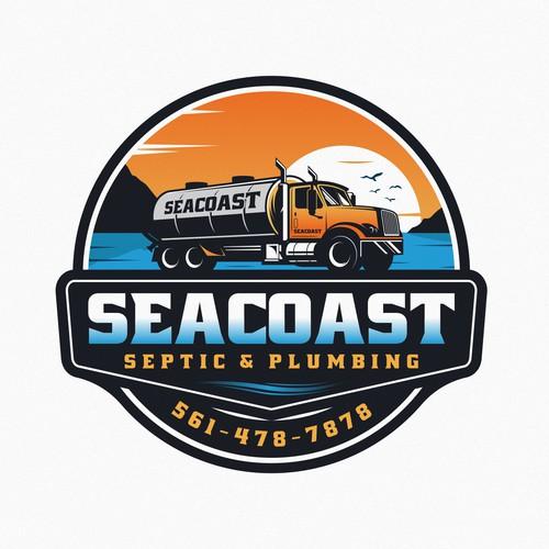 SEATCOAST Septic & Plumbing logo