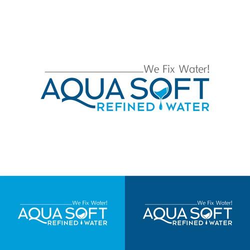 Water refining logo