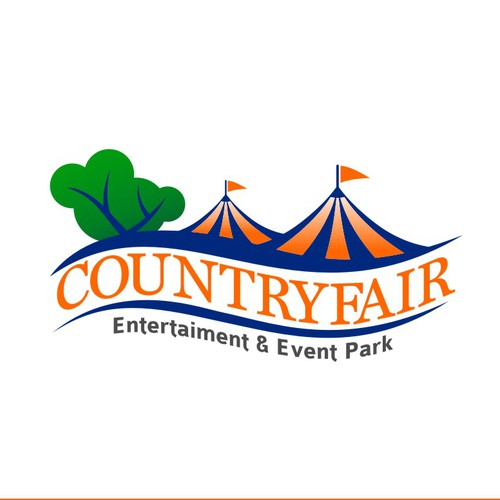 Simple Fancy logo for CountryFair