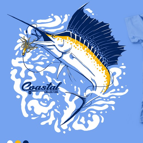 Graphic Tees for Coastal Collective
