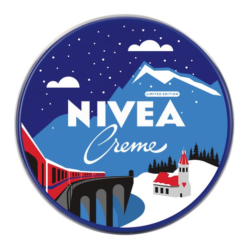 99d Studio Nivea Swiss limited edition