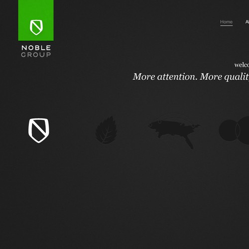 Stylish New Website Design for Creative/Consulting Start-up