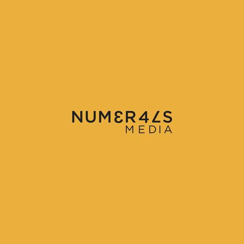NUMERALS logo design