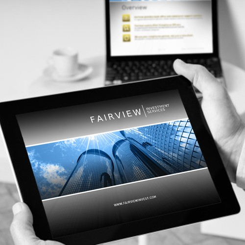 PowerPoint design for Fairview Investment Services