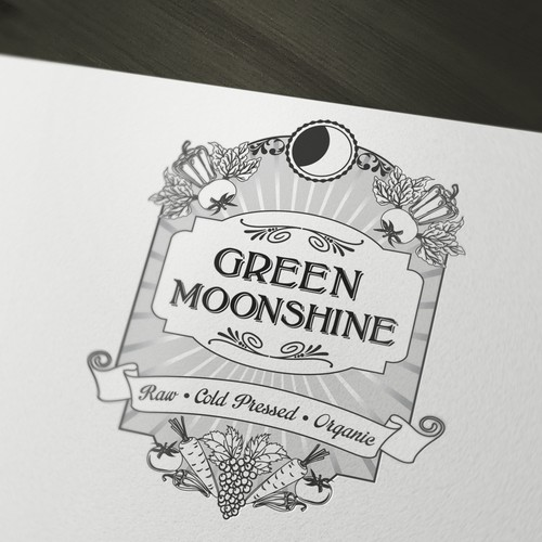 Help Green Moonshine with a new logo