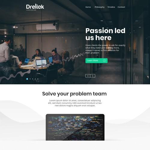 Simply modern Web Design