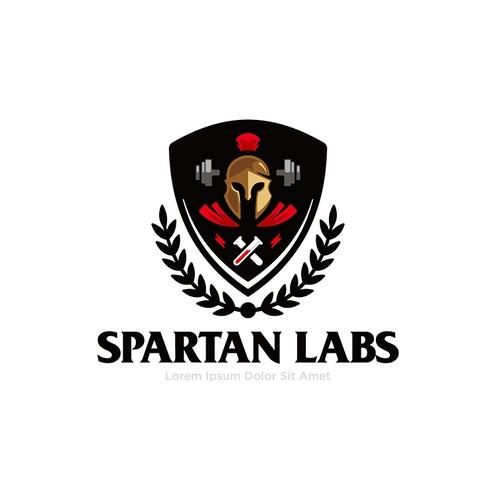 Spartan Labs logo concept