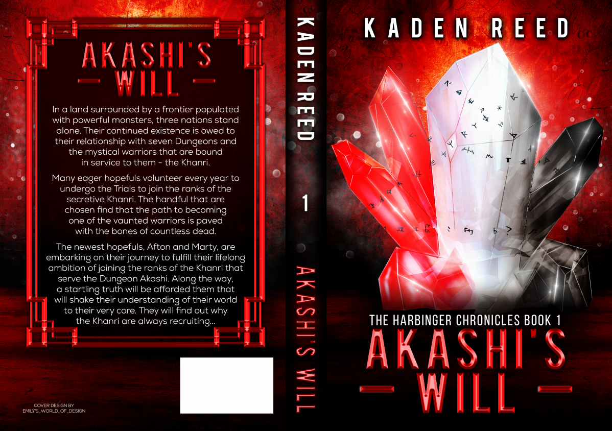 Akashi's Will: The Harbinger Chronicles, Book One (A GameLit Adventure)