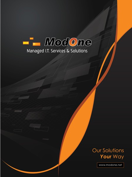 *Prize Guaranteed* ModOne needs a Presentation Folder designed